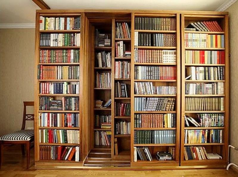 Библиотеки, раздвижные книжные шкафы, мебель, полки для книг.