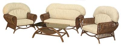 плетеная мебель, мебель из бамбука