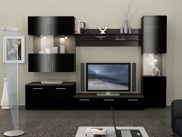 гостиная, модульная мебель для гостиной в Минске