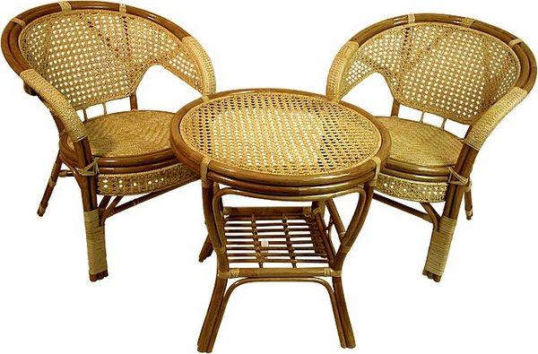 плетеная мебель, мебель из ротанга