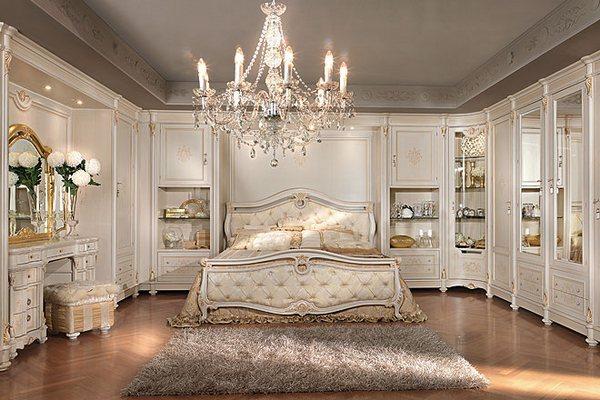 Спальня в итальянском стиле, спальня