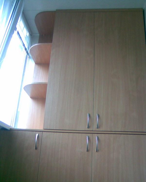 Мебель для балкона на заказ - мебель в минске, заказать шкаф.