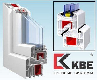 Окна из ПВХ профиля KBE