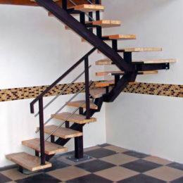 Комбинированные лестницы