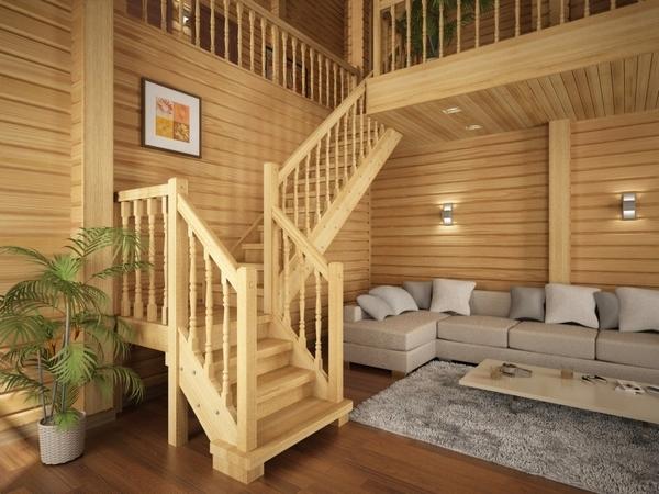 лестницы, деревянные лестницы