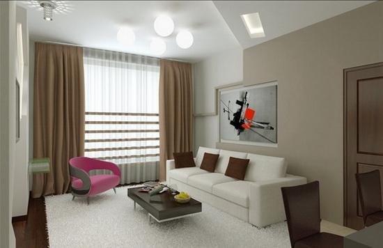 интерьер в стиле авангард, мебель под заказ
